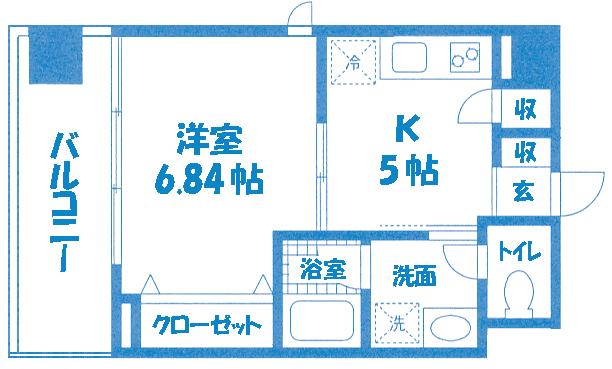 ■物件番号6328 海2分!サーファーズマンション!1K!2階カド!オートロック!屋外シャワー!オシャレ!6.7万円!