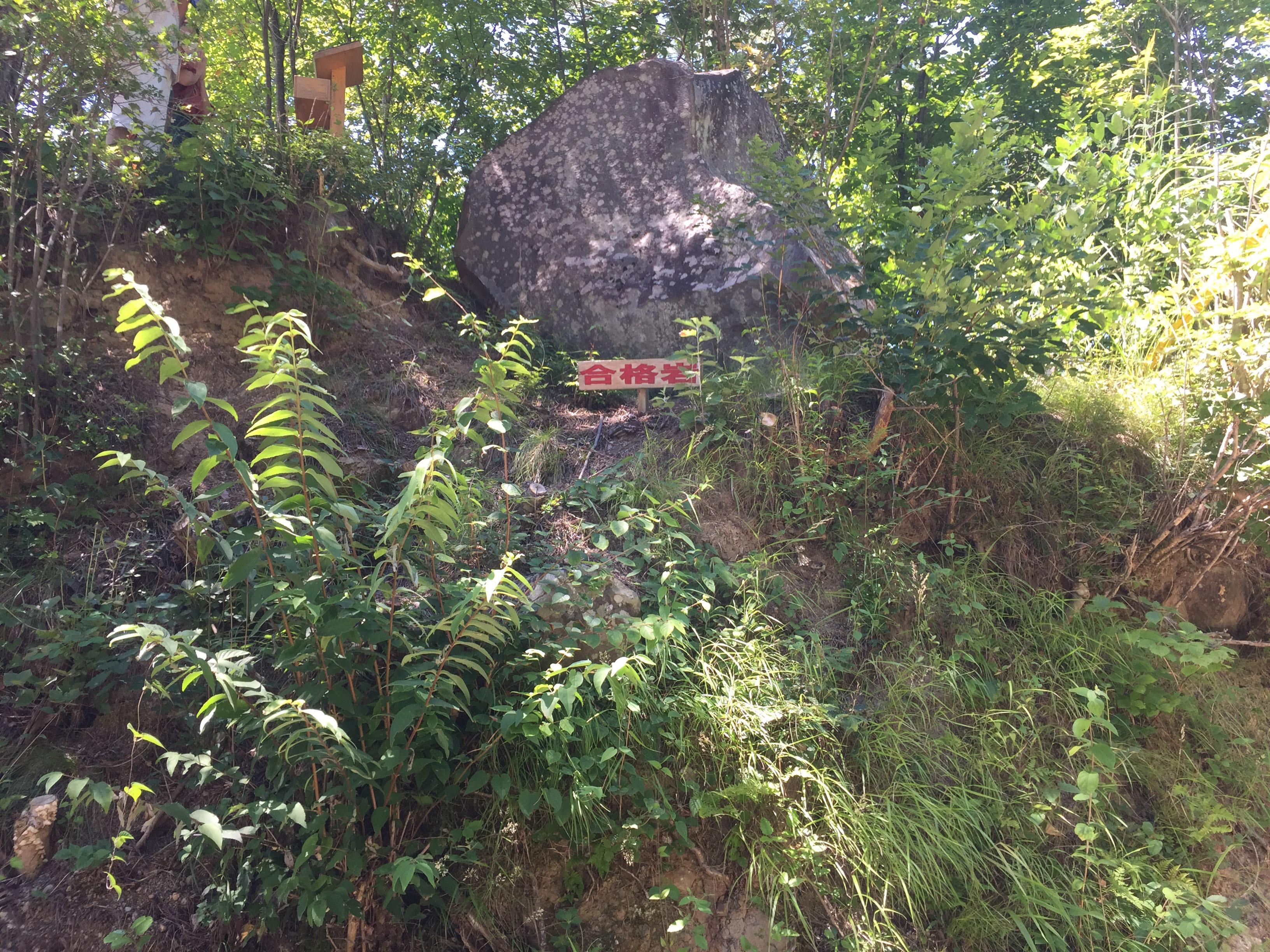 昇仙峡合格岩