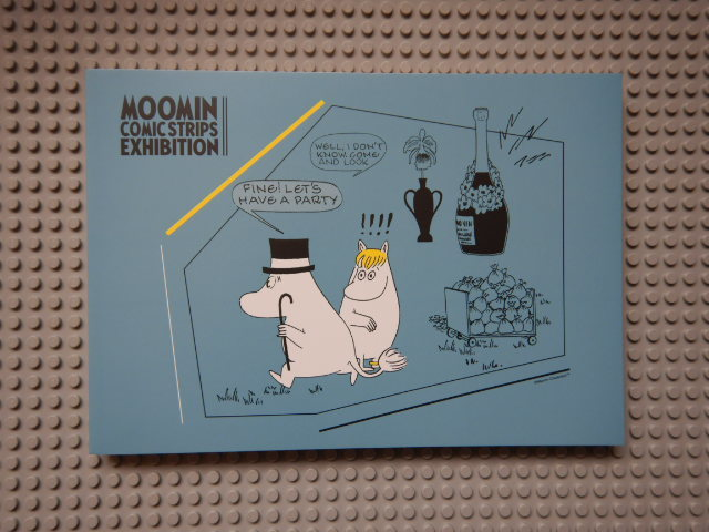 ムーミンコミックス展図録1202010