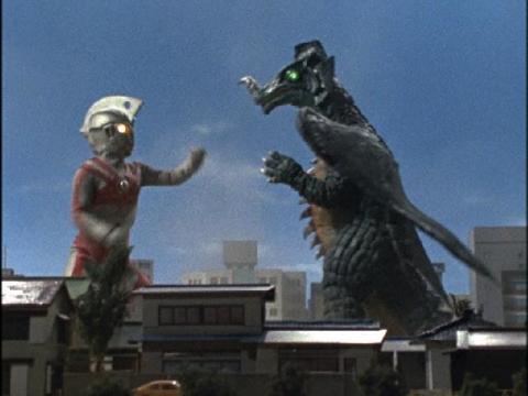 『ウルトラマンA』 第2話 「大超獣を越えてゆけ!」