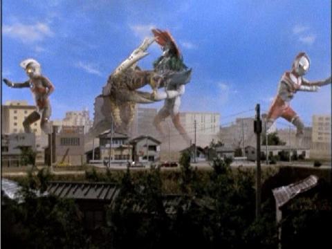 『ウルトラマンA』 第5話 「大蟻超獣対ウルトラ兄弟」