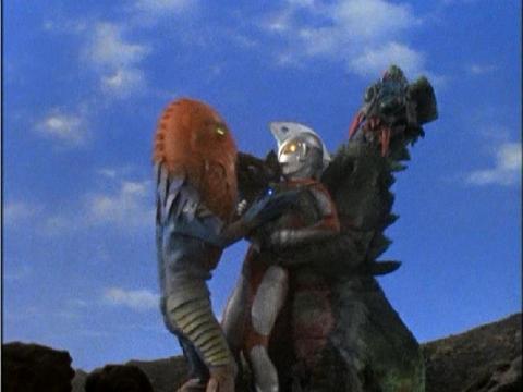 『ウルトラマンA』 第7話 「怪獣対超獣対宇宙人」