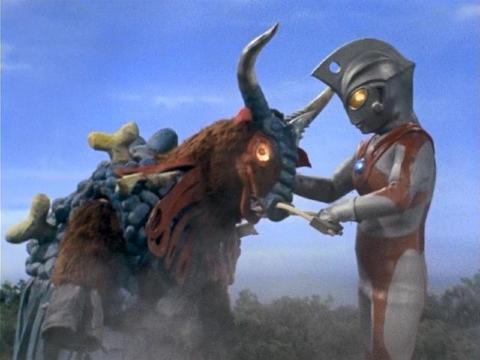 『ウルトラマンA』 第16話 「怪談・牛神男」