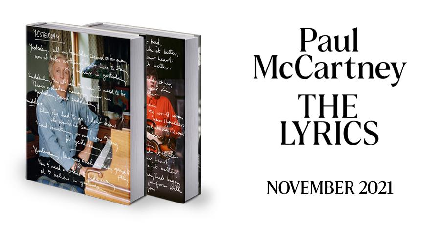 The Lyrics: 1956 to the Present - Paul McCartney