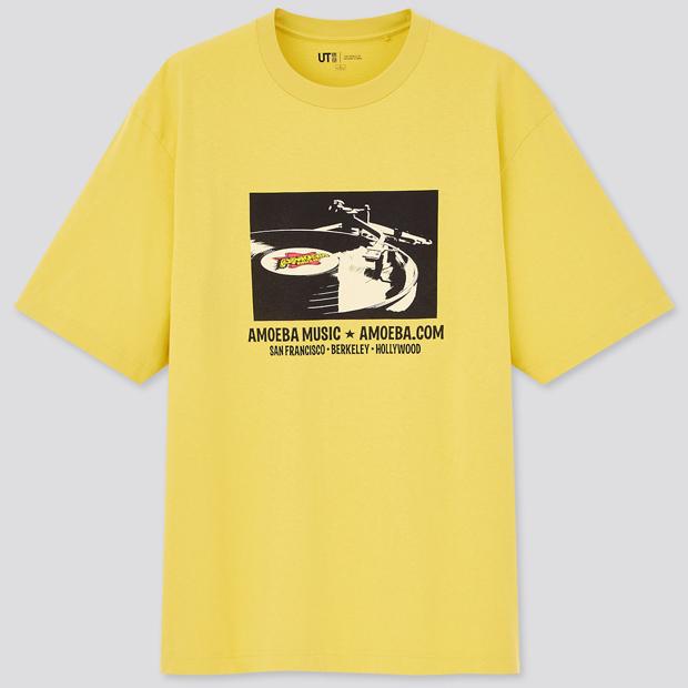 ザ・ブランズ ザ・ワールド・オブ・レコード・ストアズ UT グラフィックTシャツ Amoeba Music
