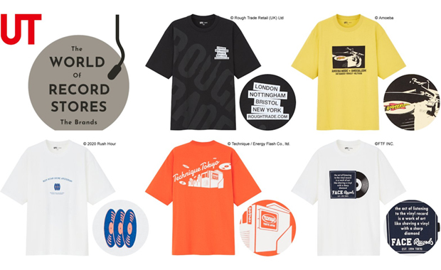 UNIQLO UTコレクション The Brands The World Of Record Stores