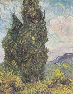 二本の糸杉
