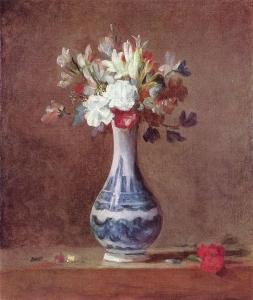 カーネーションの花瓶(花瓶の花)