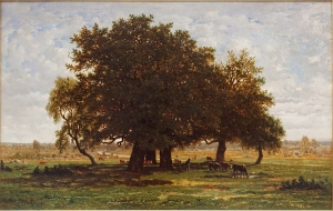 アプルモンの樫、フォンテーヌブローの森