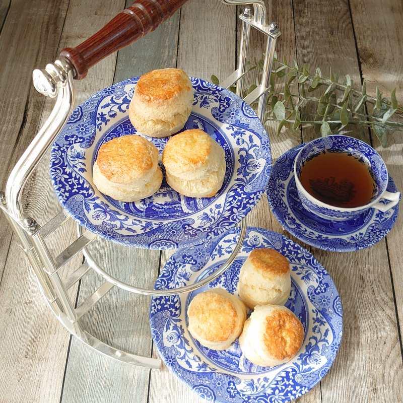 英国菓子本「スコーン大好き!」で紹介されているスコーンを作ったら美味しすぎました!!