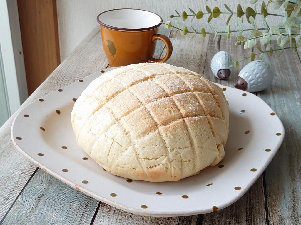 おうち時間☆バーミキュラでパンを焼く!!「メロンパン」