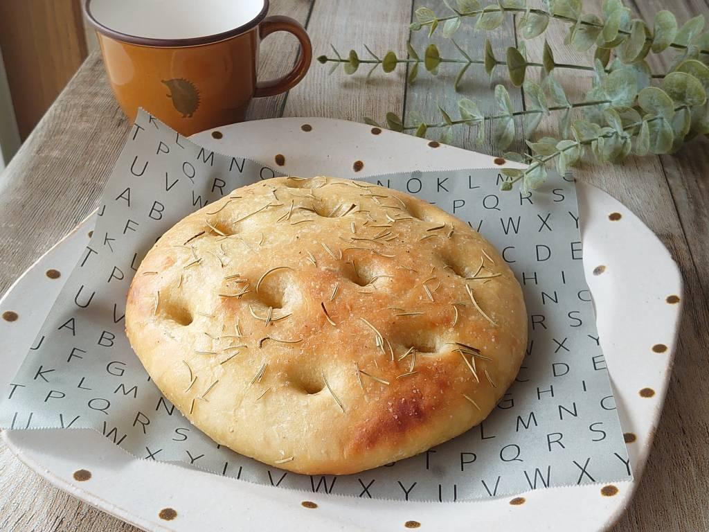 おうち時間☆バーミキュラでパンを焼く!!「玉ねぎとローズマリーのフォカッチャ」