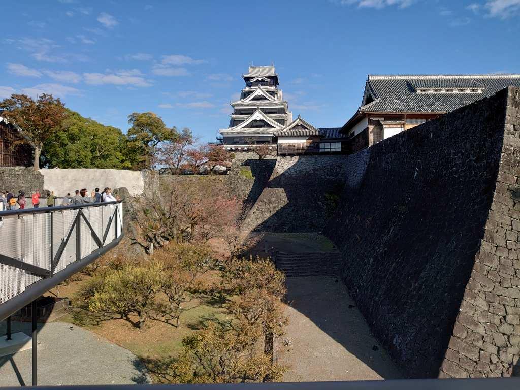 「熊本城(熊本市中央区)」特別公開第2弾!空中回廊から観る天守閣