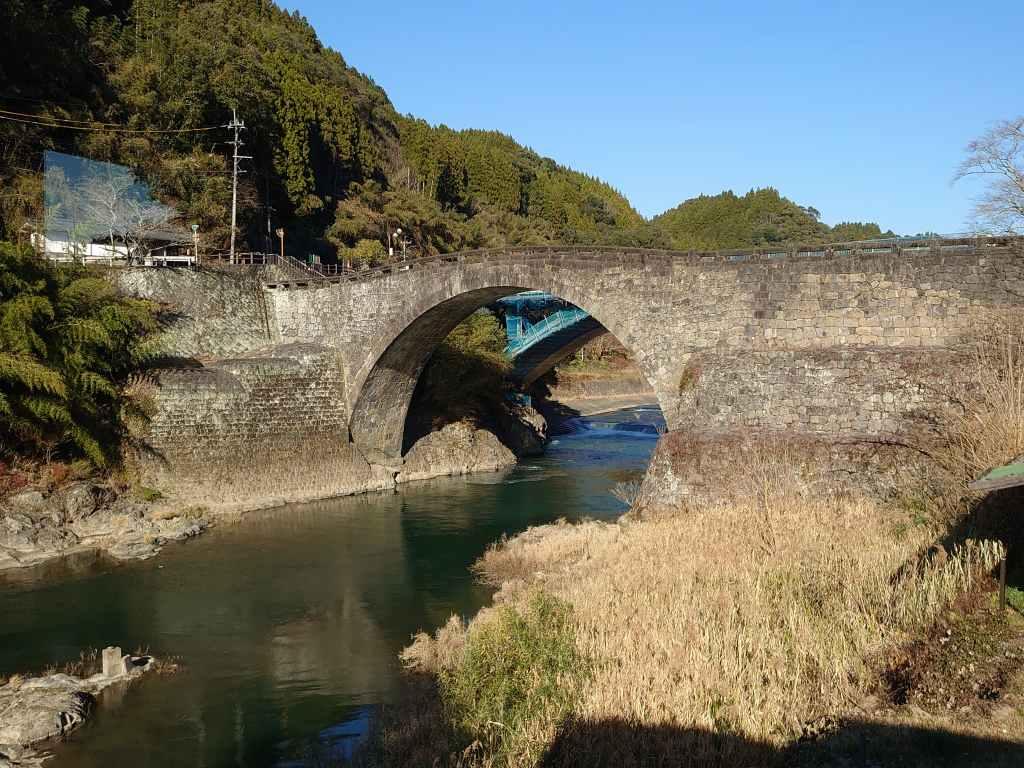 「霊台橋(熊本県美里町)」重要文化財!江戸時代に作られた日本一の石橋