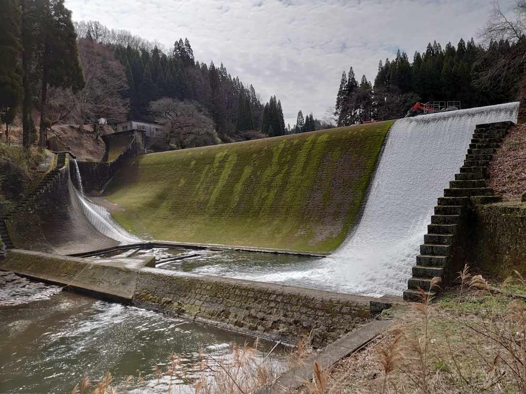 「白水ダム(大分県竹田市)」日本一美しいダム!工事中の景観も味わい深かったです