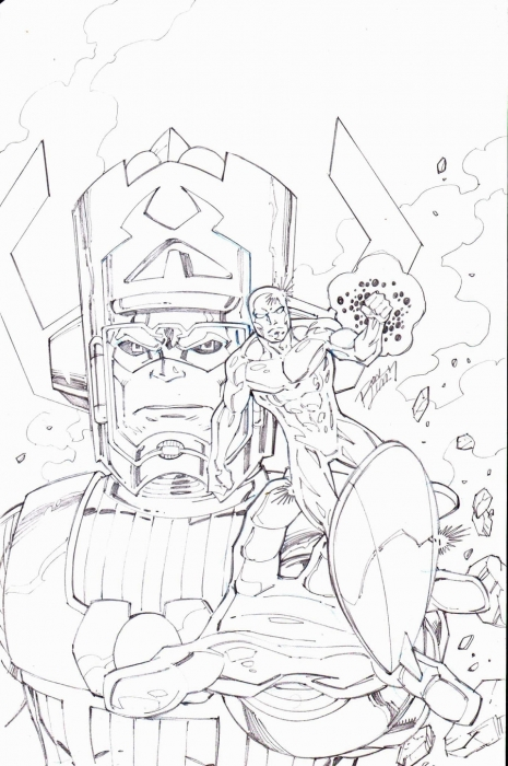 Ron Lim Sufer and Galactus