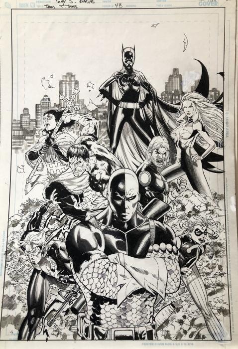 Tony Daniel Teen Titans 43 cover small
