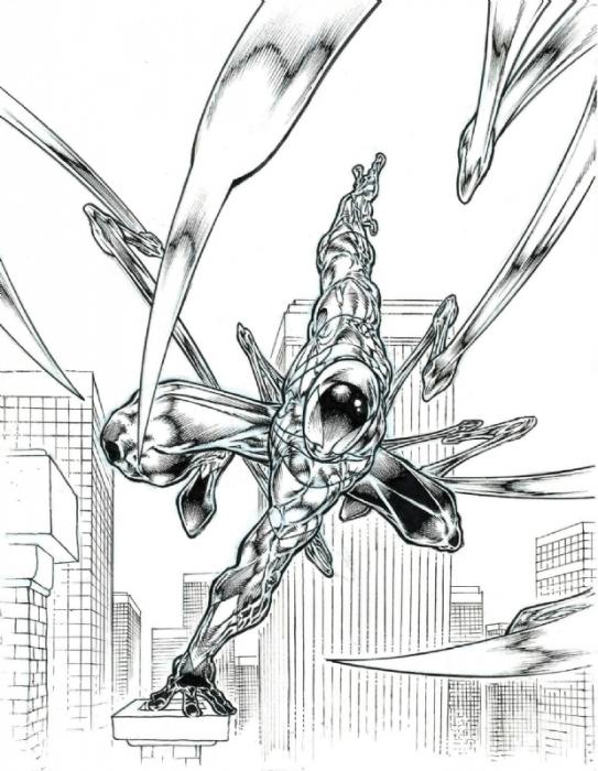 Angel Medina Iron Spidey