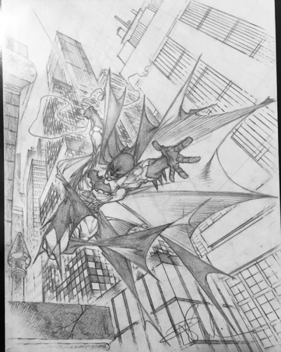 Angel Medina Batman