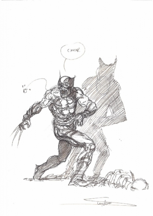 Arthur Suydam Wolverine