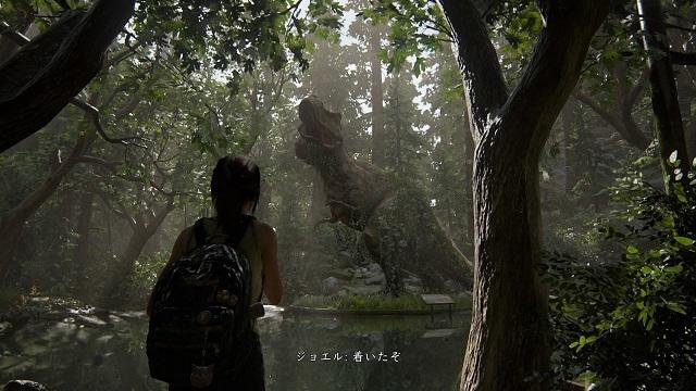 img20200726_The Last of Us® Part II_博物館跡の巨大な恐竜展示