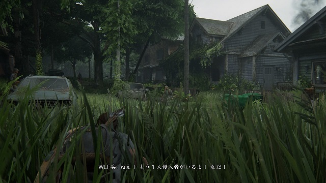 THE LAST OF US PARTⅡ WLF連中