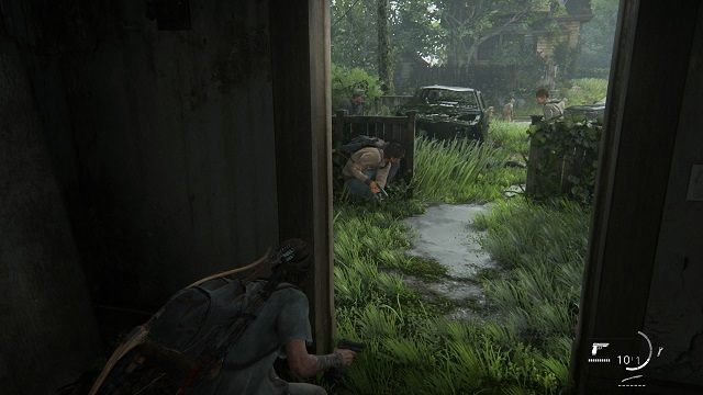 THE LAST OF US PARTⅡ WLFとの銃撃戦
