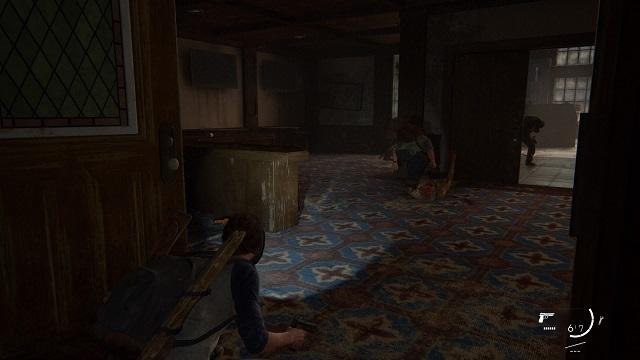 The Last of Us® Part II_ホテルの中を舞う胞子