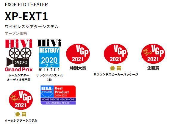 「XP-EXT1」受賞