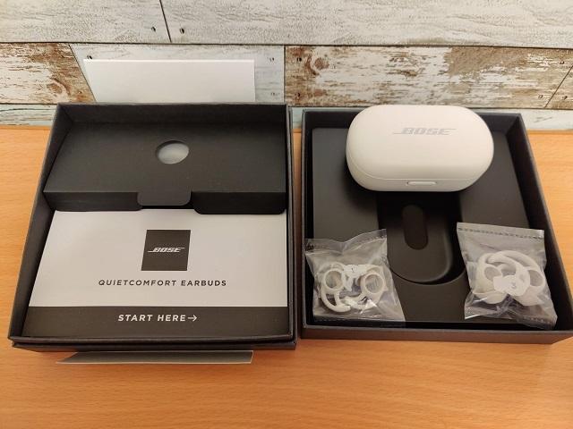 「Bose QuietComfort Earbuds」開封