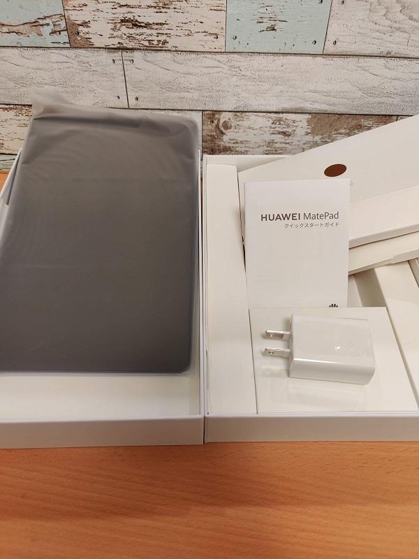 HUAWEI「MatePad 10.4inch LTE」同梱物