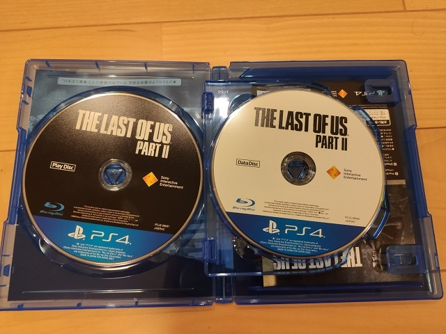 THE LAST OF US PARTⅡ インストール媒体