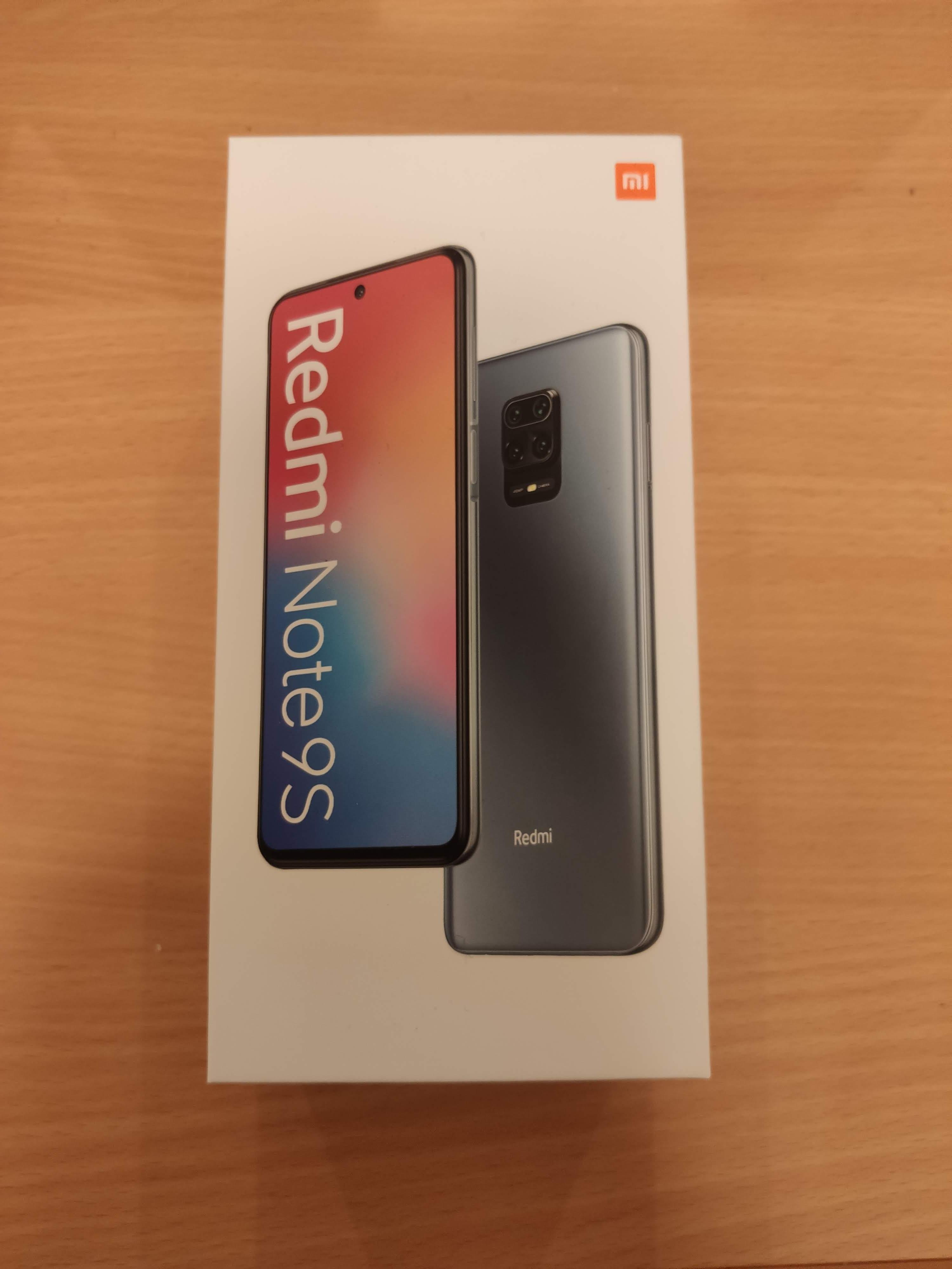 Xiaomi Redmi Note9S 箱
