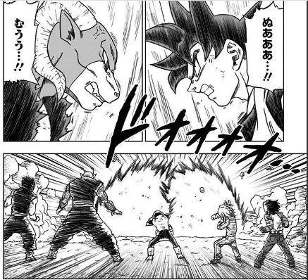 「ドラゴンボール超13」 悟空VSモロ