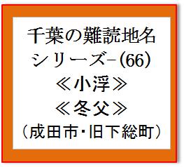 千葉難読地名66