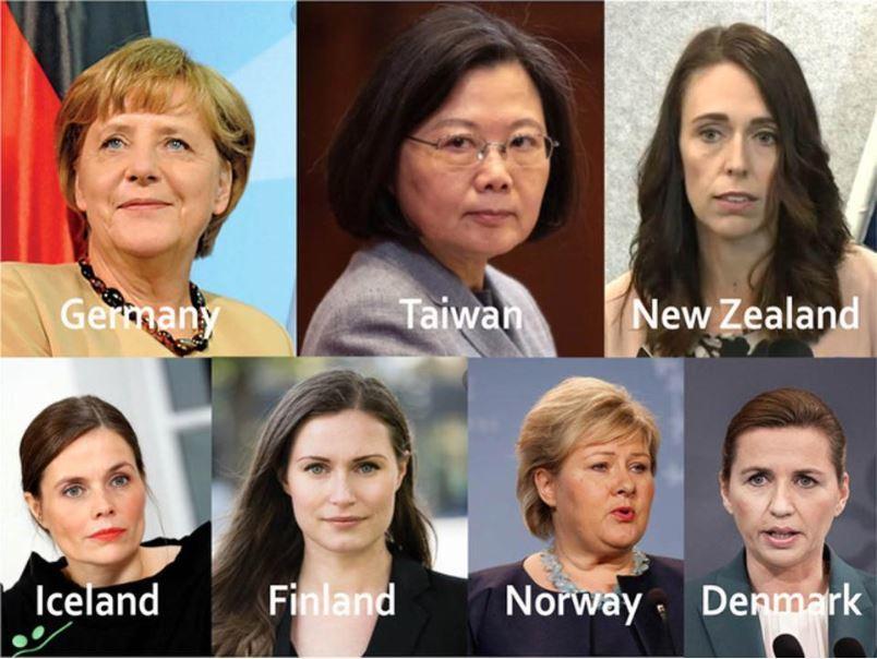 コロナで脚光 世界の女性リーダー