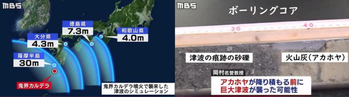 8_鬼界カルデラ噴火による津波
